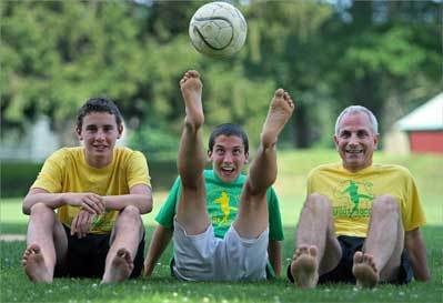 24 hours of barefoot soccer for a cause