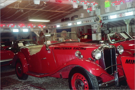 "Toad Hall Museum One for the guys is a visit to Simmons Homestead - a Hyannisport bed-and-breakfast with a museum tucked behind it. The affable innkeeper, Bill Putnam, has assembled two unusual collections: vintage sports cars and single-malt Scotch. All 57 autos are fire-engine red and displayed in a succession of racing sheds collectively named Toad Hall. Putnam also guides you to his collection of 530 varieties of single-malt Scotch. His favorite? The Lagavulin from the Hebrides island of Islay, for its ""peaty, smoky flavor.'' www.toadhallcars.com"