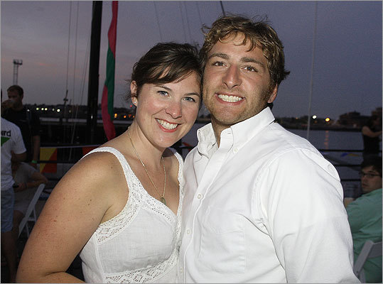 Aug. 13 in Charlestown Sarah Affel and Michael Hodess, both of Cambridge