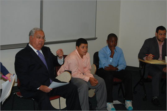 Last week, Mayor Thomas M. Menino toured a seven-week education initiative, the Summer Seedlings program, as it wrapped up its second year. This summer's installment was created in partnership with Roxbury-based Sociedad Latina , expanded from its pilot run a year ago, and was at full capacity, teaching 60 students ranging from fifth to eighth grades.