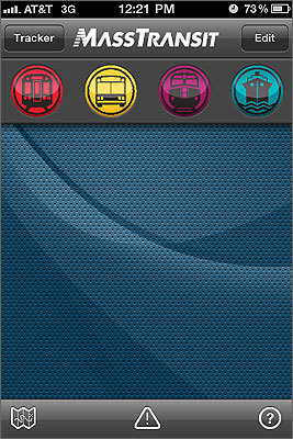 MassTransit MassTransit has all of my transit schedules in one place and is easy to use. I also use it to check MBTA transit alerts, which happen more often than they should. Submitted by: Kristin, Norwood Free for iPhone | No Android version
