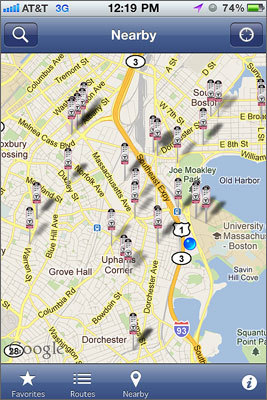 Pocket MBTA Pocket MBTA is the best bus app out there. I rely on it everyday. Submitted by: Arthur C., Somerville 99 cents for iPhone | No Android version.