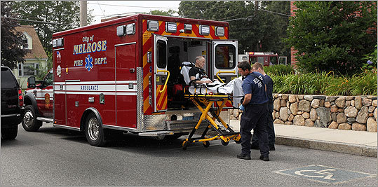 The city anticipates responding to 1,400 calls during the first year of operation. The estimate is based on past call history provided by Cataldo Ambulance Service, the city's longtime private ambulance carrier. The Somerville-based company still responds to major emergency calls in Melrose, such as heart attacks and strokes.