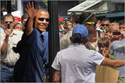 Obamas vacation on Martha's Vineyard