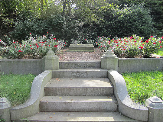 Although a bit morose, Mount Auburn Cemetery boasts some of the greenest fields and colorful floral arrangements in the city.