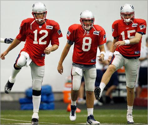 Should the Patriots keep three quarterbacks?