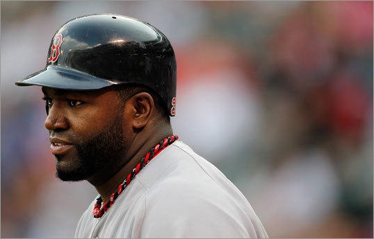 Aug. 24: Red Sox 13, Rangers 2 David Ortiz returned to the Red Sox lineup Wednesday night and batted fifth as the designated hitter. Ortiz's return accompanied another breakout game for the Sox in Texas as the team scored 13 runs for their second straight win at Rangers Ballpark at Arlington.