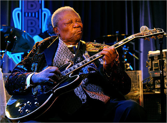 B.B. King (performing in Las Vegas last year) hasn't achieved the cultural cachet of contemporaries like Ray Charles or Johnny Cash.