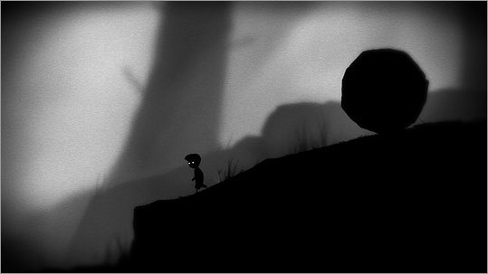 'Limbo' stars a silhouetted boy trying to navigate a world full of perils.