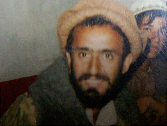 Photo of Abdul Hanan taken by a reporter and shown to his brother.