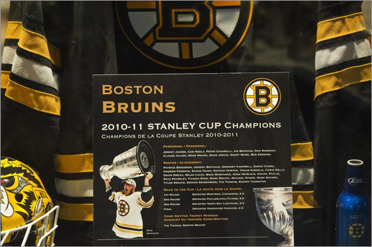 The former bank that is now home to the Hockey Hall of Fame in Toronto was Canada's biggest building when it was built in 1888. Exhibits chronicle the history of the game, right up to the Boston Bruins recent championship.