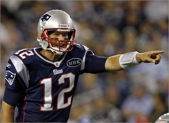 Quarterback Tom Brady (pictured), Brian Hoyer, Ryan Mallett Brady became the first player to unanimously win the NFL Most Valuable Player award last year, and still shows the passion and drive that have propelled him throughout his career. And like last year, he has myriad options in the passing game. Though the Patriots spent a third-round pick on Mallett, the rookie showed during the preseason that Hoyer doesn't have to worry about losing his job to the young gun just yet. Hoyer himself seems more than capable if he had to sub for Brady for a game or two, and appears comfortable leading the offense.
