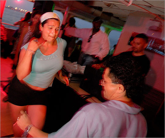 Salsa Boston offers a salsa cruise, including a dockside lesson and an evening on the water putting the lesson to work to the sounds of classic and contemporary Latin music. Cruises Sept. 9 & 16. $20 in advance, $25 at gate. Salsa Boston also offers lessons on dry land year round. See site for details.