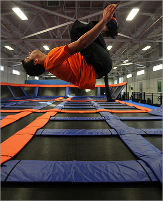 Bounce over to Skyzone Sports, where the floor is made of trampolines and visitors can get some energy out as they get some air. With open jumps every day but Mondays and 'SkyRobics' Sunday through Thursday, try Skyzone for a workout or just a bit of fun. Ticket prices vary based on time of day and duration of jump. Waiver required before jumps.