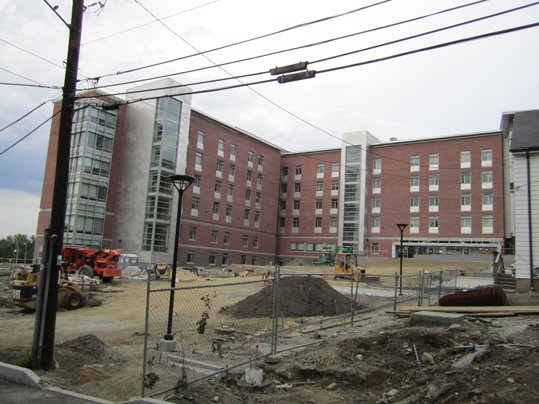 A complete view of the new North Hall.