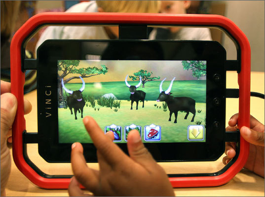 Vinci Price of tablet: $389 or $479 at Amazon.com, depending on features, with an additional $99 annual subscription fee that pays for new games, e-books and age-appropriate software. Additional $99 annual subscription provides new age-appropriate games and electronic books. First-year subscription falls to $49 for buyers of premium version. Kid-friendly design eliminates sharp edges and adds rubberized handles. Includes games and books that will appeal to toddlers. Steep initial price; mediocre battery life; Android software is sometimes buggy.