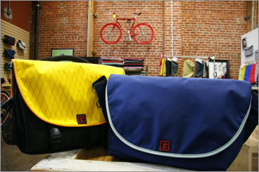 Fashion plus function: a travel bag to create then carry San Francisco-based Rickshaw Bagworks lets you custom-design your own messenger or commuter bag, tablet or computer sleeve, backpack, or zippered folio for travel documents. Go to the company's website and start creating: Select a product, and pick either vertical or horizontal orientation if you are making a laptop or tablet sleeve. Then choose the material, including Cordura nylon, performance tweed, or waterproof X-Pac for the exterior, Cordura nylon or a plush felt-like material for the interior, and a nylon binding, all in dozens of different colors. All products are made from recycled materials. You can watch your bag come together on the screen, and easily tweak your selections along the way. Prices range from $30 (vertical sleeve) to $190 (backpack). 415-904-8368, www.rickshawbags.com KARI BODNARCHUK