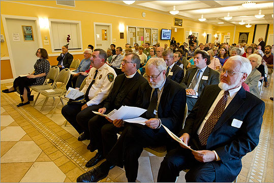 More than 200 people attended the 10th anniversary of Sept. 11 Interfaith Remembrance Service at the Islamic Center of Boston Sunday. This was one of the many events around the state that observed Sept. 11, 2001. Take a look at the photos.