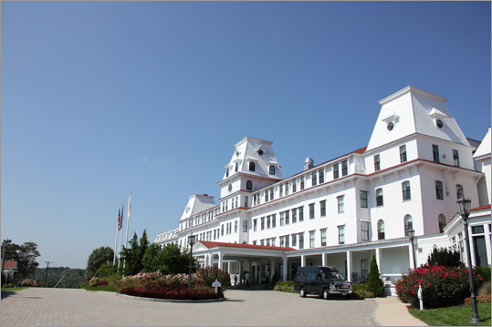 Heading into New Castle, the historic Wentworth-by-the-Sea commands attention. A recent six-year, $30 million reconstruction brought the hotel - constructed in 1874 - back to its original glory.
