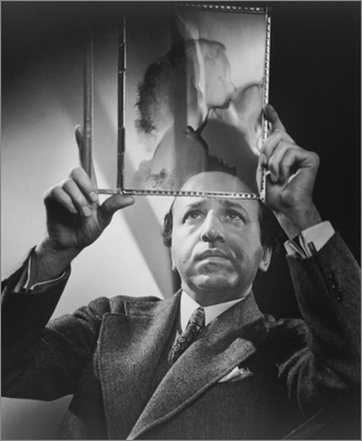 Eminent photographer Yousef Karsh was known for his iconic, intimate portraits of many of the most important figures of the 20th century: Winston Churchill, Albert Einstein, Ernest Hemingway, Queen Elizabeth, Martin Luther King Jr. and more. This 1962 image is a self-portrait by Karsh, preserved on a silver gelatin print.