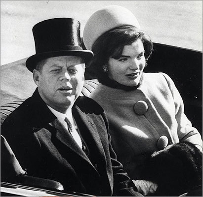 '[The tapes] are a direct, personal, and immediate source that provide a far better sense of her than the accounts written by those she never said a single word to.' Pictured: The Kennedys on Jan. 20, 1961, the day he became the nation's 35th president and she became the first lady at age 31.