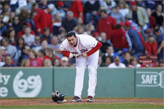 Sept. 18: Rays 8, Red Sox 5 Red Sox first baseman Adrian Gonzalez had a lousy day, going 0-for-4, to cap a lousy series. He went 0-for-12, with seven strikeouts.