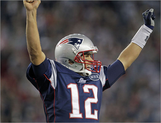 Patriots quarterback became the first player to follow a 500-yard passing game with a 400-yard passing game, according to NFL spokesman Greg Aiello.