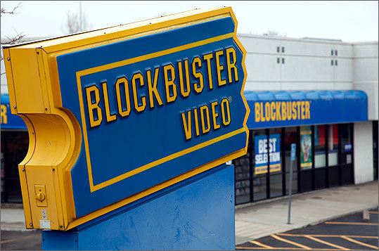 Blockbuster Blockbuster streams movies and shows online but also offers rentals through the mail and in-store. A subscription for the mail and in-store rentals ranges from $10 to $20 per month, depending on how many movies you can take out at one time. Movies online cost $3.99 or less to rent, and range from $9.99 to $22 to buy. They also offer some movies or shows for free online. Blockbuster offers no monthly streaming plan.