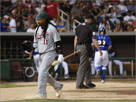 Former Red Sox slugger Manny Ramirez is on the verge of completing his return to Major League Baseball. His 50-game suspension because of a violation of MLB's performance-enhancing drug policy has been served and he's tuning up for a possible call-up to the A's with the Sacramento River Cats. On the occasion of his 40th birthday on May 30, we take a look back at the moments that have come to be defined as 'Manny Being Manny,' from his stellar play to incendiary comments and from trouble with the law to questionable injuries.