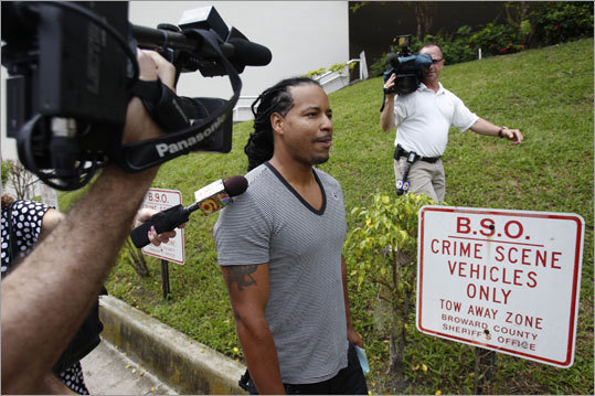 Sept. 12, 2011 Ramirez was arrested and charged with domestic battery after an incident involving his wife, Juliana, at their Florida home. He was released the next day and ordered to have no direct contact with his wife.