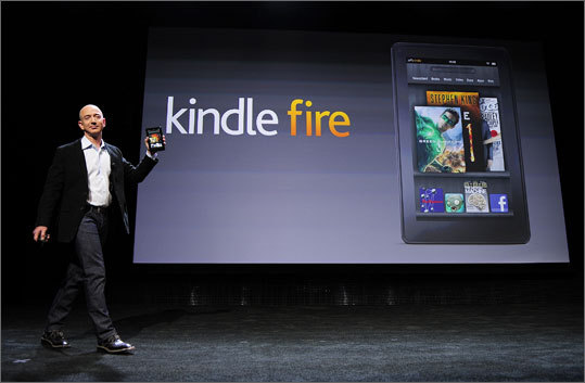 Apps? Right off the bat, users will have access to Amazon's Android Appstore, Kindle store, and Amazon MP3. Techcrunch is reporting that Fire users can load apps from Amazon's Appstore -- which includes Netflix.