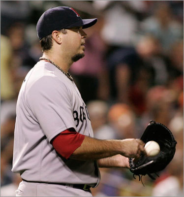 Josh Beckett Beckett was spectacular (2.27 ERA) in the first half of the season, but he faltered down the stretch, winning just one of his four starts in September. His 1-2 record (7.03 ERA) in four starts against the Orioles ended up coming back to haunt the Red Sox.
