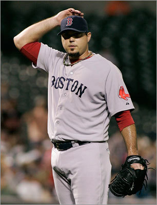 How much blame should be on Josh Beckett?