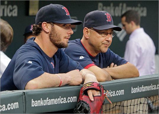 Jarrod Saltalamacchia Saltalamacchia was banged up on Tuesday night, but it said a lot about the team's faith in their young catcher that they started Ryan Lavarnway in place of Saltalamacchia in a must-win game on Wednesday. The Sox catcher surprised somewhat with 16 home runs in 2011, but he hit .162 in September.