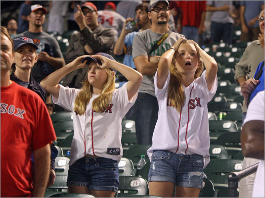 Red Sox Nation was shocked at how the final moments of the season played out.