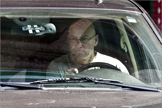Terry Francona left Fenway Park after a morning meeting with team ownership and general manager Theo Epstein.