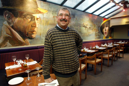 Casablanca, the landmark Harvard Square restaurant, is closing at the end of August , according to owner Sari Abul-Jubein. The venue has been a gathering for professors, artists, writers and Bohemians for more than four decades. Tucked under the Brattle Theatre at 40 Brattle St., Casablanca first opened its doors in 1955. Abul-Jubein put the restaurant up for sale last year, citing difficulties with competition and the economy.