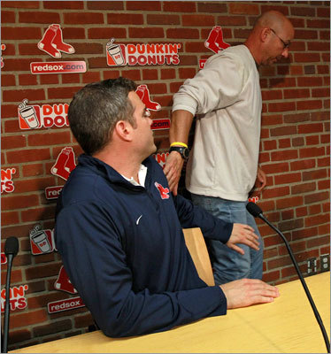 Manager: Terry Francona While Francona brought Boston two World Series titles, the end was not pretty. The Red Sox, who led the American League East standings much of the summer, had a historic collapse in September, going 7-20 and failing to get into the playoffs. The final stroke came on the last day of the season, when the Red Sox blew a ninth-inning lead to the Orioles, then watched the Rays complete a comeback to beat the Yankees and win the AL wild card.