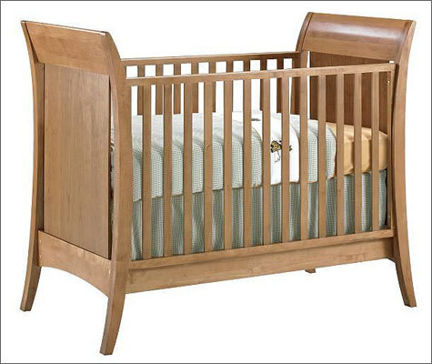 "Shermag recalls to repair drop-side cribs because of entrapment, suffocation and fall hazards Date: Sept. 29, 2011 Units: About 2,300; about 800 in Canada Recall involves wooden drop-side cribs with hidden drop-side hardware. ""Shermag"" is printed on a tag on the mattress springs. The drop-side rail hardware on the cribs can break or fail, allowing the drop side to detach from the crib. When the drop side detaches, a hazardous gap is created."