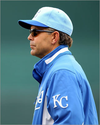 Trey Hillman The former Royals manager (2008-2010) spent the season as the Dodgers' bench coach alongside manager Don Mattingly. Hillman also managed the Nippon Ham Fighters in Japan from 2003-2007. His major-league managerial winning percentage is .423. In Japan, it was .520.