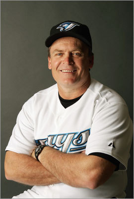 John Gibbons The former manager of the Blue Jays was the Royals' bench coach in 2011. Gibbons was fired by the Blue Jays in 2008 after starting that season 35-39. He compiled a 305-305 record as Toronto's manager.