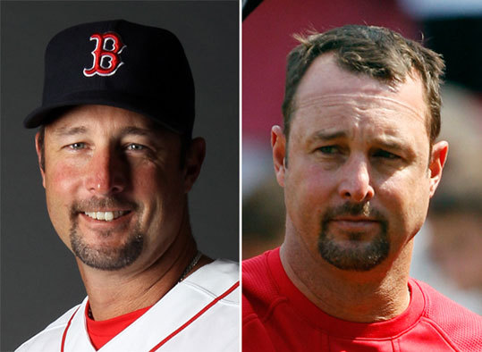 Tim Wakefield Left: Feb. 20 Right: Sept. 14