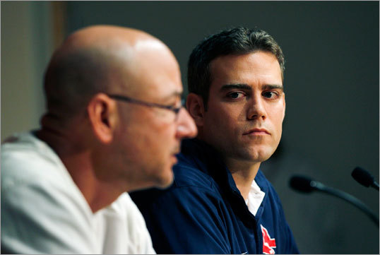 After the shocking end to the 2011 Red Sox baseball season, manager Terry Francona (left) and general manager Theo Epstein left the team, parting ways after the Red Sox went 7-20 in September and missed the playoffs. The team's epic collapse resulted in loads of the clubhouse's dirty laundry to be aired publicly, and led to major changes. Scroll through the gallery for a timeline of important events and quotes that followed the team's epic collapse.