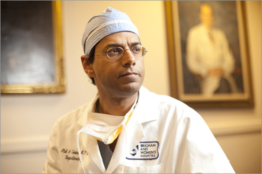 "Dr. Atul Gawande Gawande, surgeon and writer , is as celebrated for his New Yorker articles on health care policy as he is for his work at Brigham and Women's Hospital and Dana-Farber Cancer Institute in Boston. His 2009 book, ""The Checklist Manifesto,'' helped popularize a simple technique being used by doctors to reduce medical errors. He grew up in Ohio and now lives in Newton."