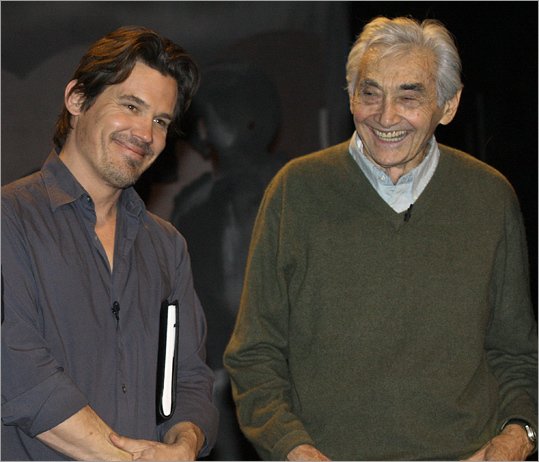 Howard Zinn 'You want a real history book, read Howard Zinn's 'People's History of the United States,' ' said Matt Damon's character in 'Good Will Hunting.' Damon actually grew up in Newton next door to Zinn, the Boston University historian, author, and political activist. Zinn (seen with actor Josh Brolin) wrote more than 20 books about the country's civil rights and antiwar movements. He died in 2010.