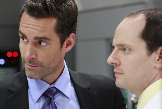 Jay Harrington Harrington (far left) was born in Newton and has been featured in a number of television shows, including 'Better Off Ted' and 'Coupling.'