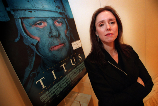 Julie Taymor Taymor is responsible for bringing the 'Lion King' to Broadway to much critical acclaim and record-breaking profits. But more recently, she's known for the drama behind her directorial effort of 'Spider-Man: Turn Off the Dark' on Broadway, which included delays, injuries and ever-inflating budgets. Before the musicals and the directing of films like 'Frida' and 'Across the Universe,' Taymor grew up in Newton. At left is Taymor before a screening of her film 'Titus' at the MFA in Boston.