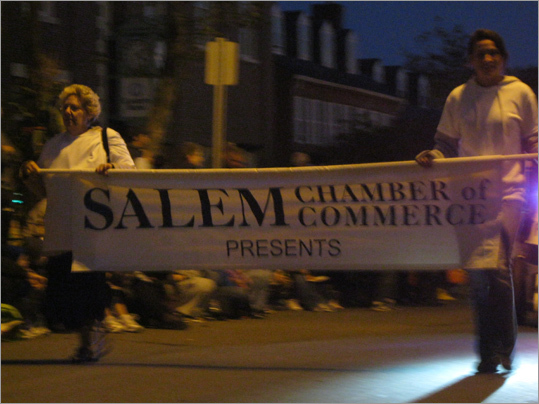 The parade started at 6:30 p.m. at Shetland Park and ended at 8 p.m. at Salem Common.