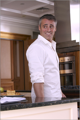 Matt LeBlanc The actor who played the dopey Joey on 'Friends' was born and raised in Newton and still occasionally hangs out at local watering holes or goes grocery shopping like normal folks. He graduated from Newton North High School and, according to his fan site, was trained to be a carpenter.