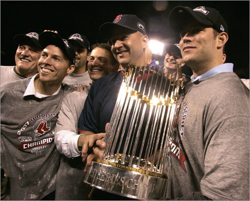 2007 World Series champs Epstein saw Boston win a second World Series victory in 2007. The Red Sox defeated the Rockies in four games.
